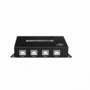 China Full Speed Usb Keyboard And Mouse Switch USB 2.0 KVM Switch Box 4 Channel  Input on sale