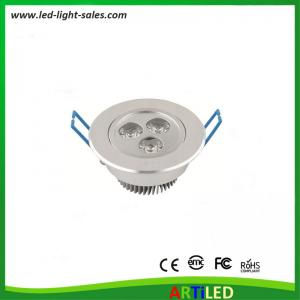 China 3W high power LED ceiling lights with adjustable angle for commercial and home use on sale