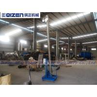 China Plastic Material Flexible Spiral Conveyor , Customized Size Grain Screw Conveyor on sale
