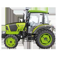 4WD Green 	Compact Diesel Tractor , Small Farm Tractors 18 - 40hp Power