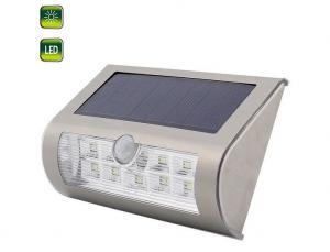 China 4V 9 LED White Light Outdoor Solar Motion Sensor Light For Courtyard, Balcony, Wall, Fence, Dtreet, Garden Etc. on sale