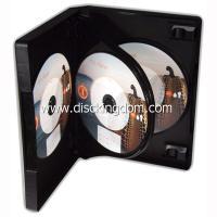 China 14m m caja CD suave de 6 del disco del DVD PP del caso, caja CD plástica con la bandeja on sale