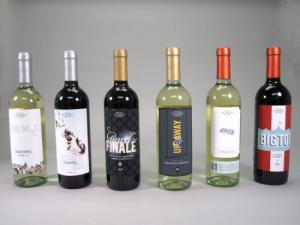 China Printed Red Wime Label / Wine Bottle Shrink Sleeve Labels Self Adhesive on sale