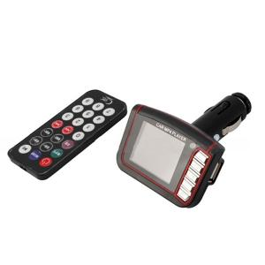 China Black 1.8 Lcd206 Fm Channels Sd / Mmc car Mp3 Mp4 Player Fm Transmitter Car Electronics Products on sale