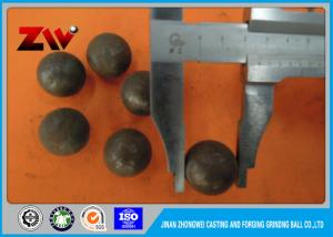 China High Hardness B2 HRC 58-64 forged grinding steel ball for mining material on sale