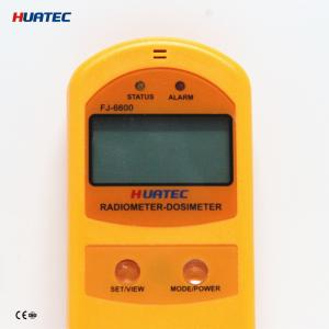 China Radiation Monitoring Devices X- ray , γ ray , Soft and hard β radiometer dosimeter FJ-6600 soil surface radiation on sale