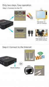 Android TV Box RKMC 17 4 fully loaded processor RK3229 S905W
