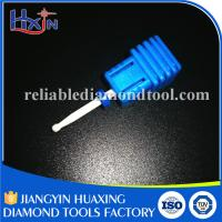 Fine and Medium Type Diamond Nail Bit , Ceramic Electric Nail File Drill Bits