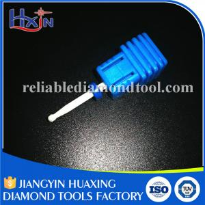 China Fine and Medium Type Diamond Nail Bit , Ceramic Electric Nail File Drill Bits on sale