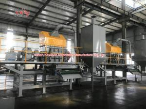 China Low Speed Tire Debeader Machines Waste Tire Recycling Grinder 45kw - 132kw on sale