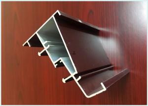 China Thermal Insulation Wood Finish Aluminium Profiles Precise Cutting For Medical Equipment on sale