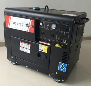 China Small portable 5kw silent diesel generator honda type for sale on sale