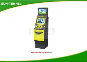China Free Standing Currency Exchange Kiosk Self Service Bill Dispense Coins To Cash on sale