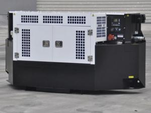 China Clip On Type Reefer Container Diesel Genset Diesel Engine Truck Carrier Genset 25kva on sale