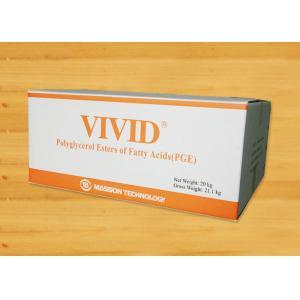 China Polyglycerol Esters of Fatty Acids Food Grade Emulsifiers PGE155 Custom on sale