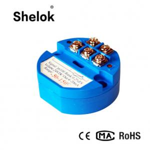 China Pt100 temperature transmitter module low price on sale