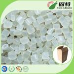 EVA resin Yellowish Granule solid  Hot Melt Adhesive Packaging , EVA Hot Melt Pellets for bonding of common corrugated c