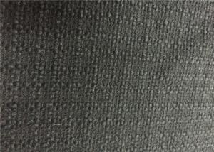 China 600G/M Alpaca Wool Fabric Black Low Weight For Living Room Upholstery on sale