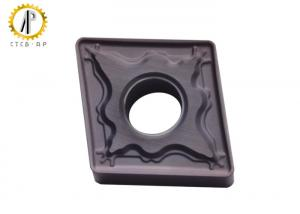 China CNMG1204 PVD Coating Turning Tungsten Carbide Inserts For Stainless Steel Finishing on sale
