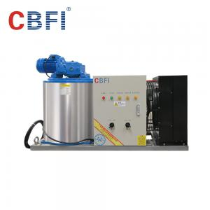 China Large Capacity Ice Flakes Making Machine , Commercial Ice Makers 1000 Kg To 60000 Kg on sale