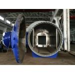 航空機の作成の横の高圧合成のオートクレーブの圧力容器
