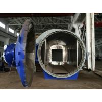 Horizontal High Pressure Composite Autoclave Pressure Vessel Of Aircraft Making