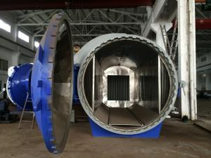 China Horizontal High Pressure Composite Autoclave Pressure Vessel Of Aircraft Making on sale