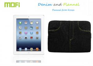 China Dark Brown Flannel Durable Ipad Protective Cases Anti-dirt on sale