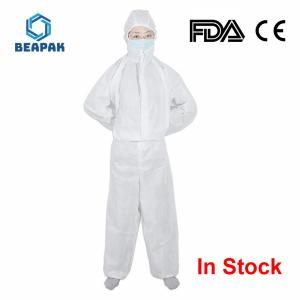 China comfortable Disposable Protective Coverall , Disposable Protective Suit on sale