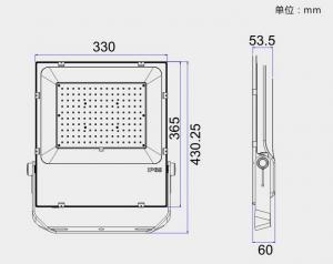 China SMD LED Flood Light 5 Years Guarantee 150w LED Flood Light ETL DLC CE Listed on sale