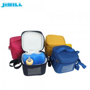 China Waterproof Picnic Milk Soft Cooler Bag With Adjustable Shoulder Strap on sale