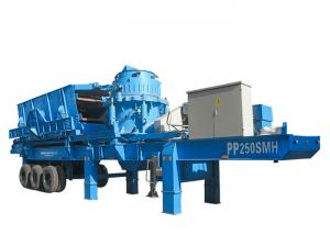 China Cone Crusher Station Mobile Crushing Plant Limestone Crushing Plant on sale