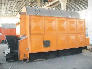 China Water Heating Chain Grate Wood Fired Steam Boiler For Petrochemical , 15 Ton on sale