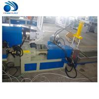 China 500kg / H Plastic Pelletizing Machine , PLC Pet Bottle Recycling Plant on sale