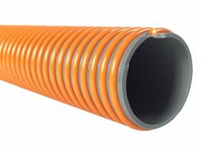 China Plastic Reinforced PVC Suction Hose Helix Suction Discharge Spiral Tube Pipe Conduit Line Hose on sale