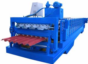 China H steel Color steel roll shutter door forming machine, cold forming machine for GI / PPGI on sale