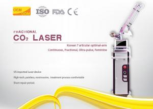 China 40w Power Vaginal Rejuvenation Machine Co2 Fractional 10600 Nm Red Color on sale