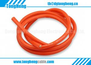 China 200C High Temperature Silicone Insulated and Silicone Jacketed Custom Control Cable on sale