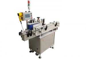 China Glass / Plastic Bottle Automatic Labeling Machine Open Frame Design on sale