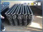 Hot Water Boiler Stack Economizer / Economiser Tubes Anti - Corrosion
