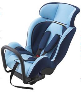 Quality Portable Child Safety Car Seats With Adjustable Headrest / Fabric + Sponge for sale