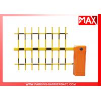 China Automatic Car Parking Barriers With 6m Telescopic Arm Barrier Gate on sale