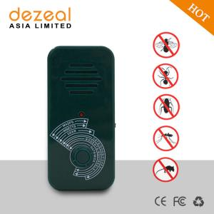 China Dezeal DZ-205 Amazon hot sale portable ultrasonic animal dog repeller for mice mouse insects ants cat on sale