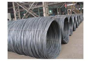 China SAE 1008 Alloy Steel Wire Coil 2.2 - 3.5 Mt / Coil Weight 14 Mm on sale