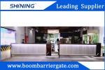 Aluminum Automatic Gate Barrier 200 W Car Parking Management System