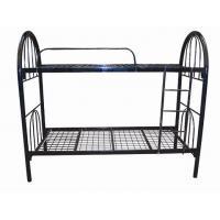 Wire mesh metal bunk bed, cheap school bunk bed, metal bed frame
