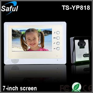 """China high definition 7""""color TFT LCD home automation door peephole video intercom on sale"""