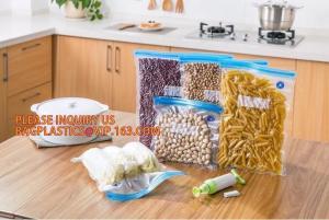 China Vacuum Food Sealer Bags embossed insulated plastic vaccum bag  frozen food saver BAGS Textured Vacuum Storage Roll Bag F on sale
