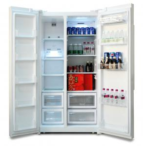 quality r600a automatic defrost 200l double door refrigerator for commercial use for sale - Commercial Refrigerator For Sale