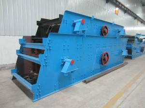 China High Sieving Efficiency Linear Vibrating Screen Low Noise 20-100T Per hour on sale